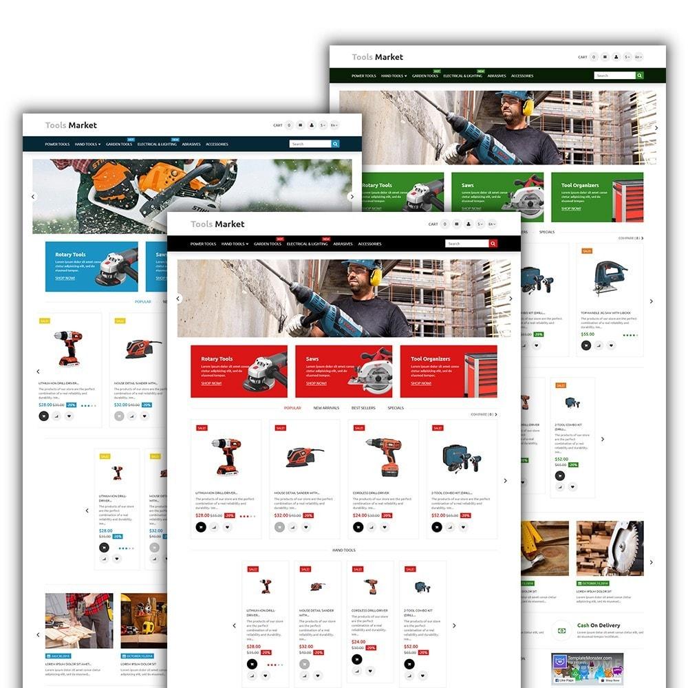 theme - Дом и сад - Tools Market - шаблон на тему ремонт - 2