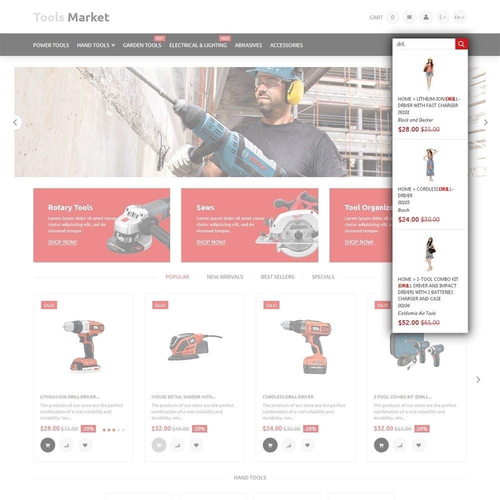 theme - Дом и сад - Tools Market - шаблон на тему ремонт - 6