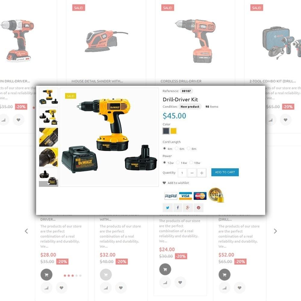 theme - Maison & Jardin - Tools Market - Marché d'outils thème - 4