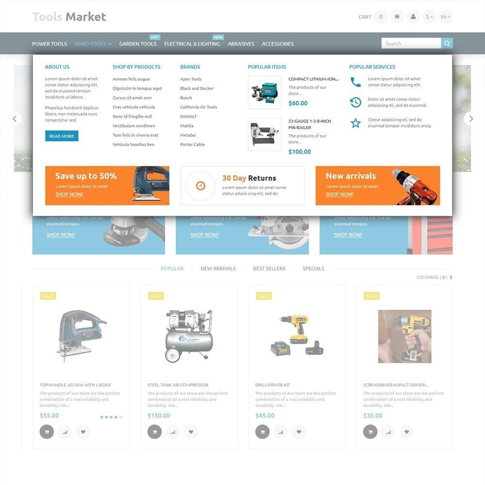 tools market march d 39 outils th me prestashop addons. Black Bedroom Furniture Sets. Home Design Ideas