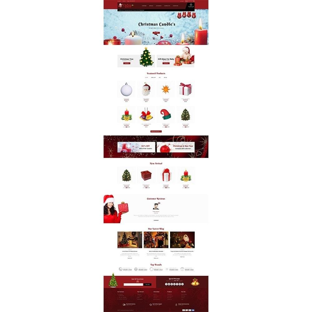 theme - Подарки, Цветы и праздничные товары - Christmas Store - 2
