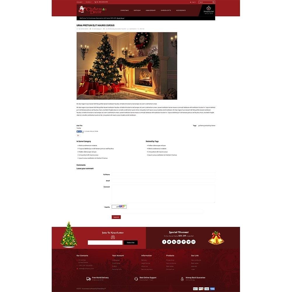 theme - Подарки, Цветы и праздничные товары - Christmas Store - 6