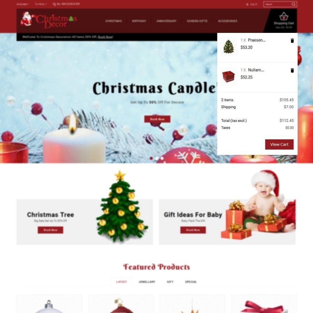 theme - Подарки, Цветы и праздничные товары - Christmas Store - 8