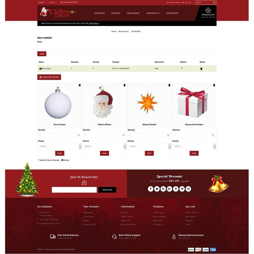 theme - Подарки, Цветы и праздничные товары - Christmas Store - 10
