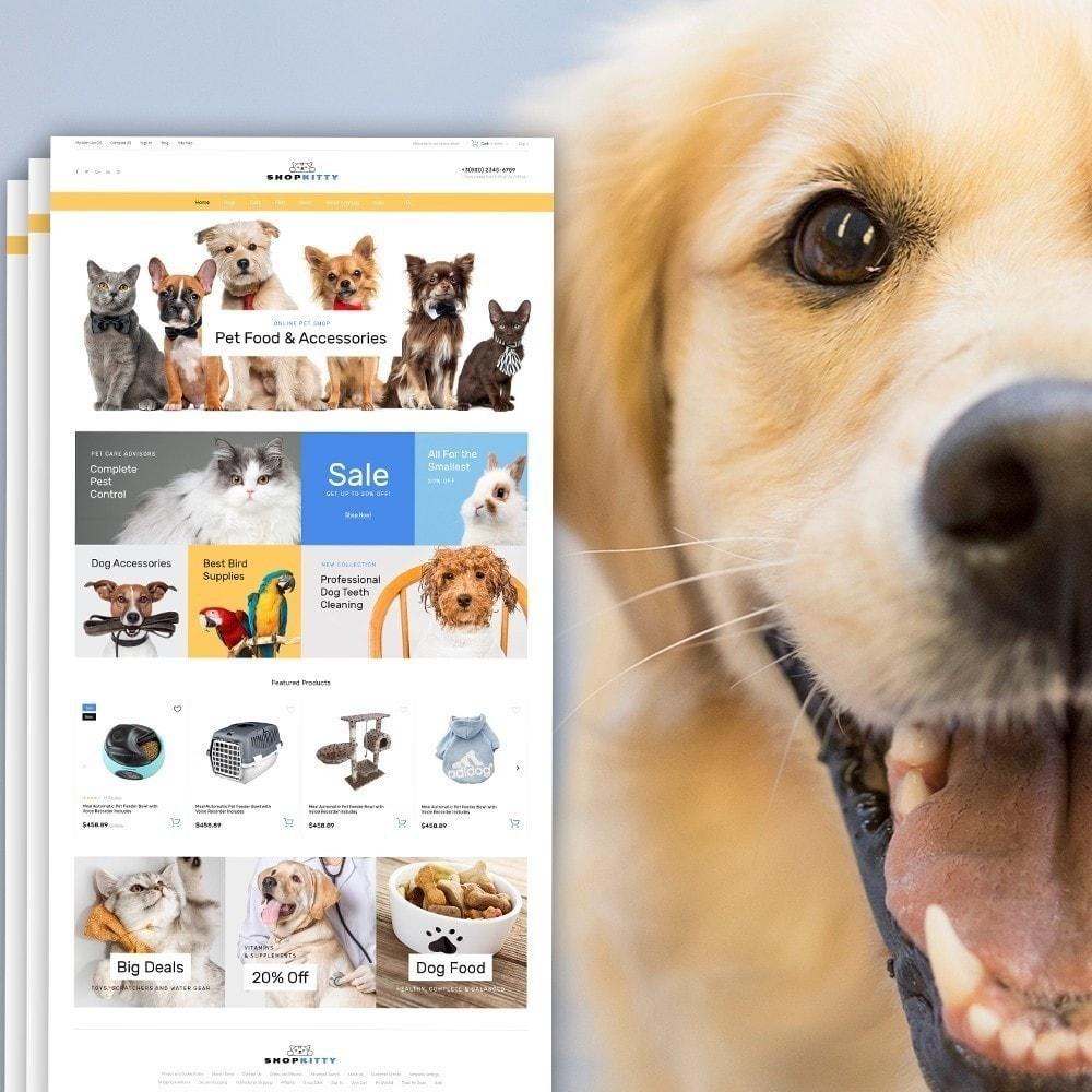 theme - Animales y Mascotas - ShopKitty - 2