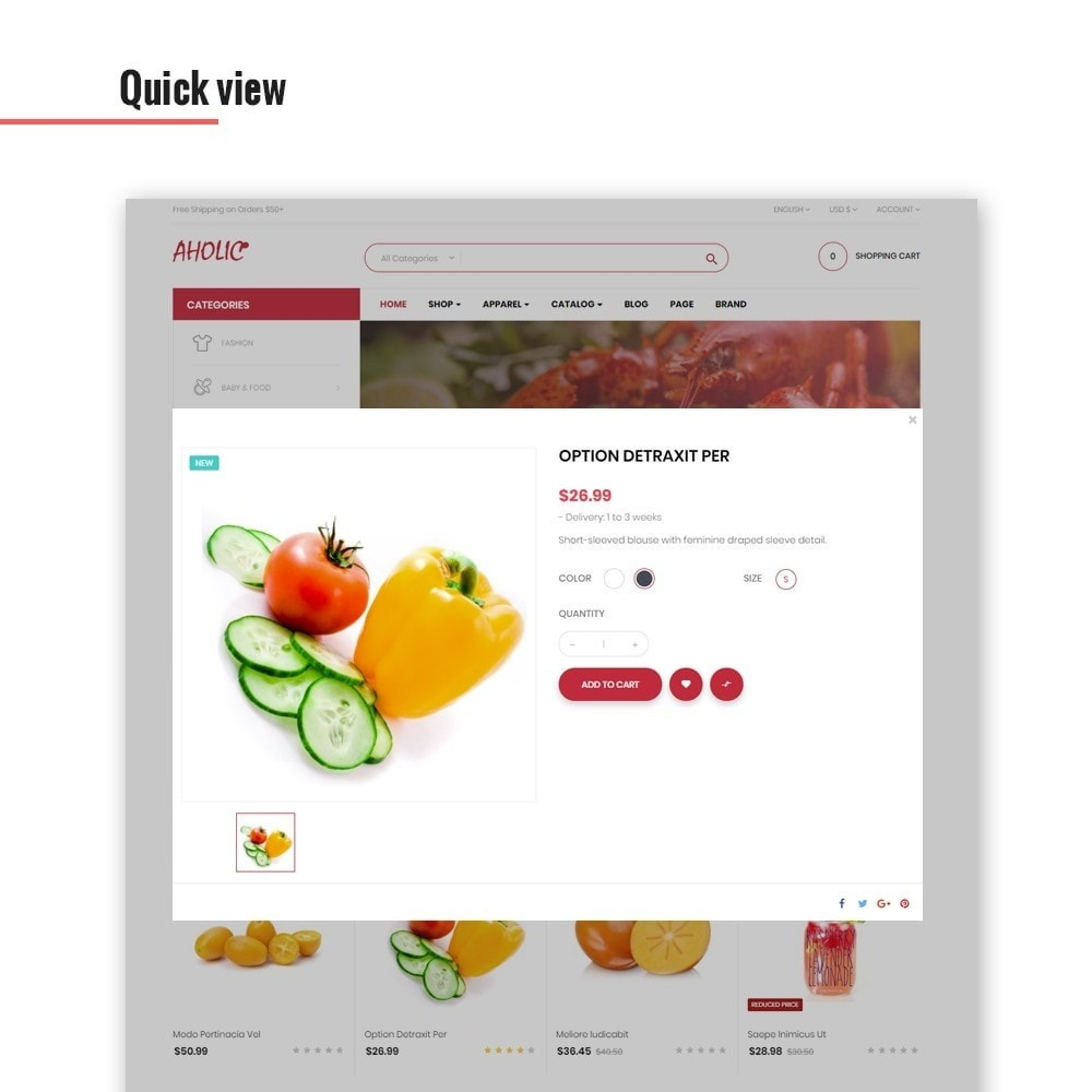 theme - Lebensmittel & Restaurants - Leo Foodaholic - 6