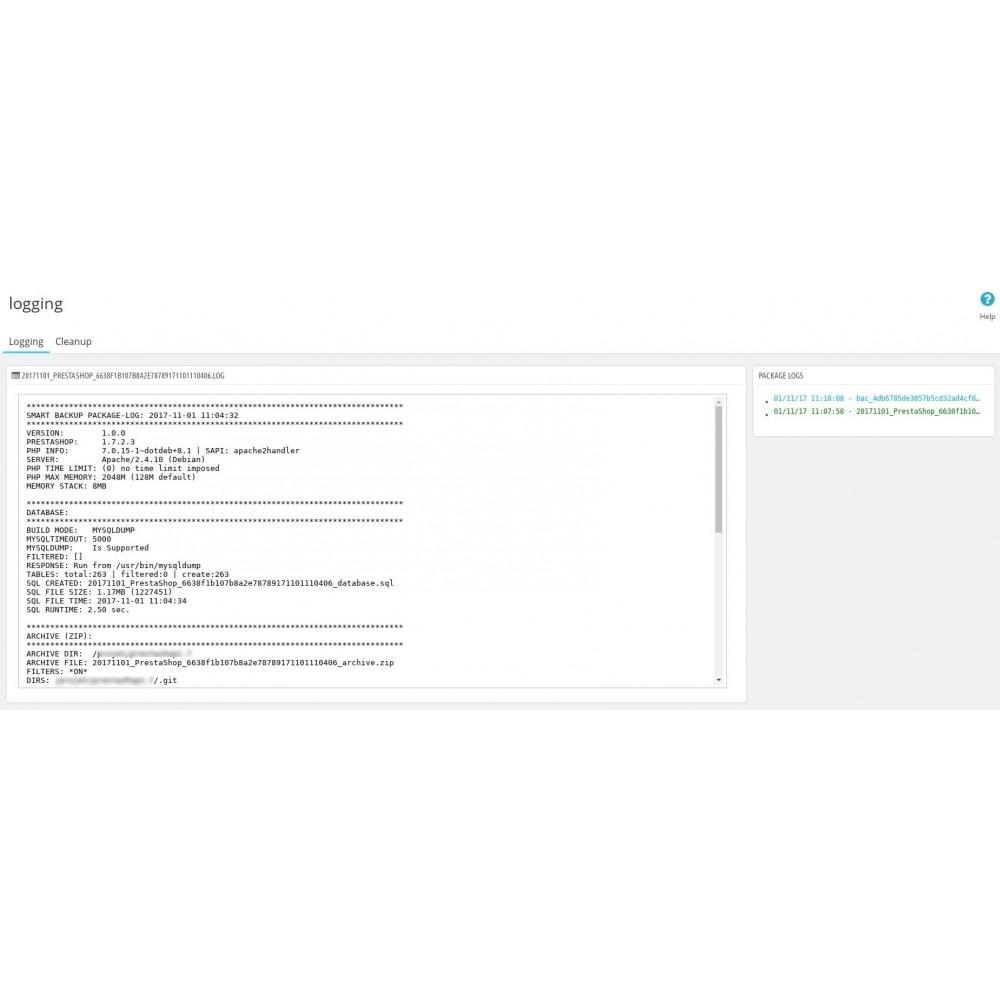 module - Migration de Données & Sauvegarde - Smart Backup - 13