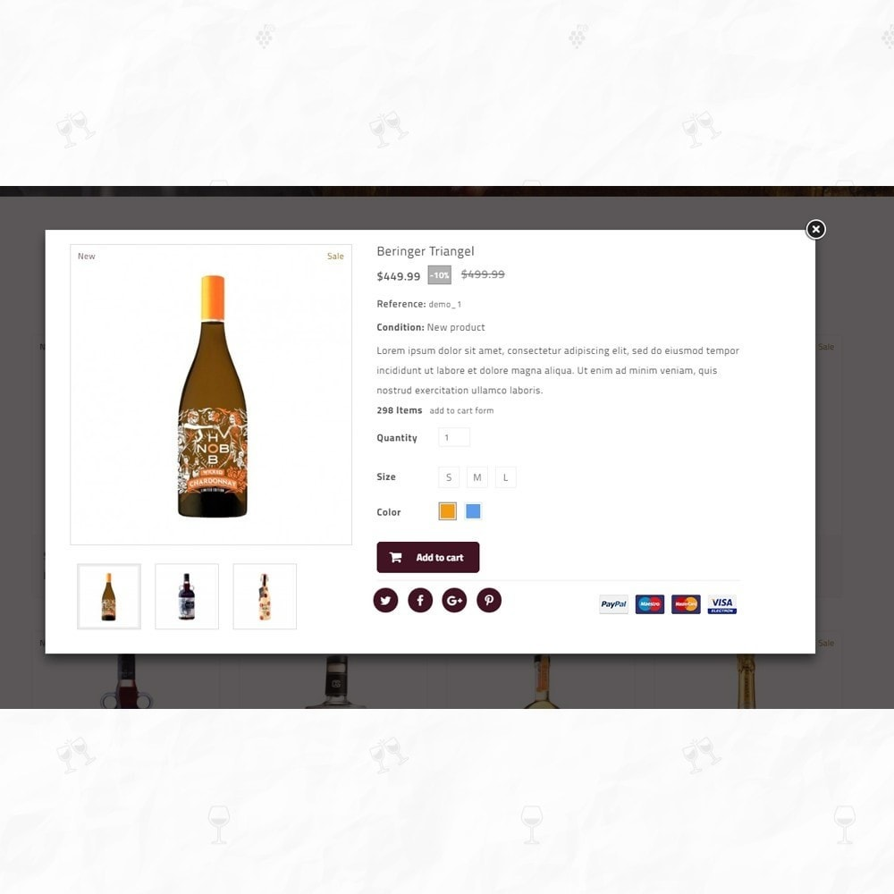 theme - Drink & Tobacco - On Star - Wine Store - 6