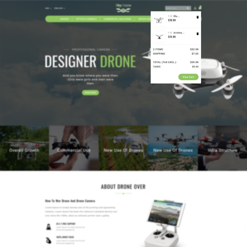 theme - Electronics & Computers - Drone Store - 6