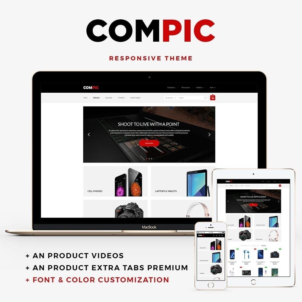 theme - Electronique & High Tech - Compic - High-tech Shop - 1