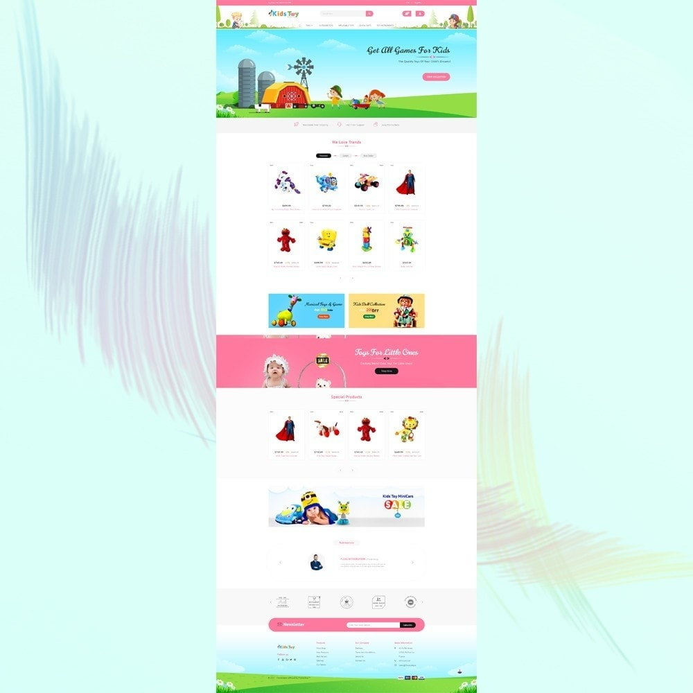 theme - Kinder & Spielzeug - Enjoy - Kids Toy Store - 2