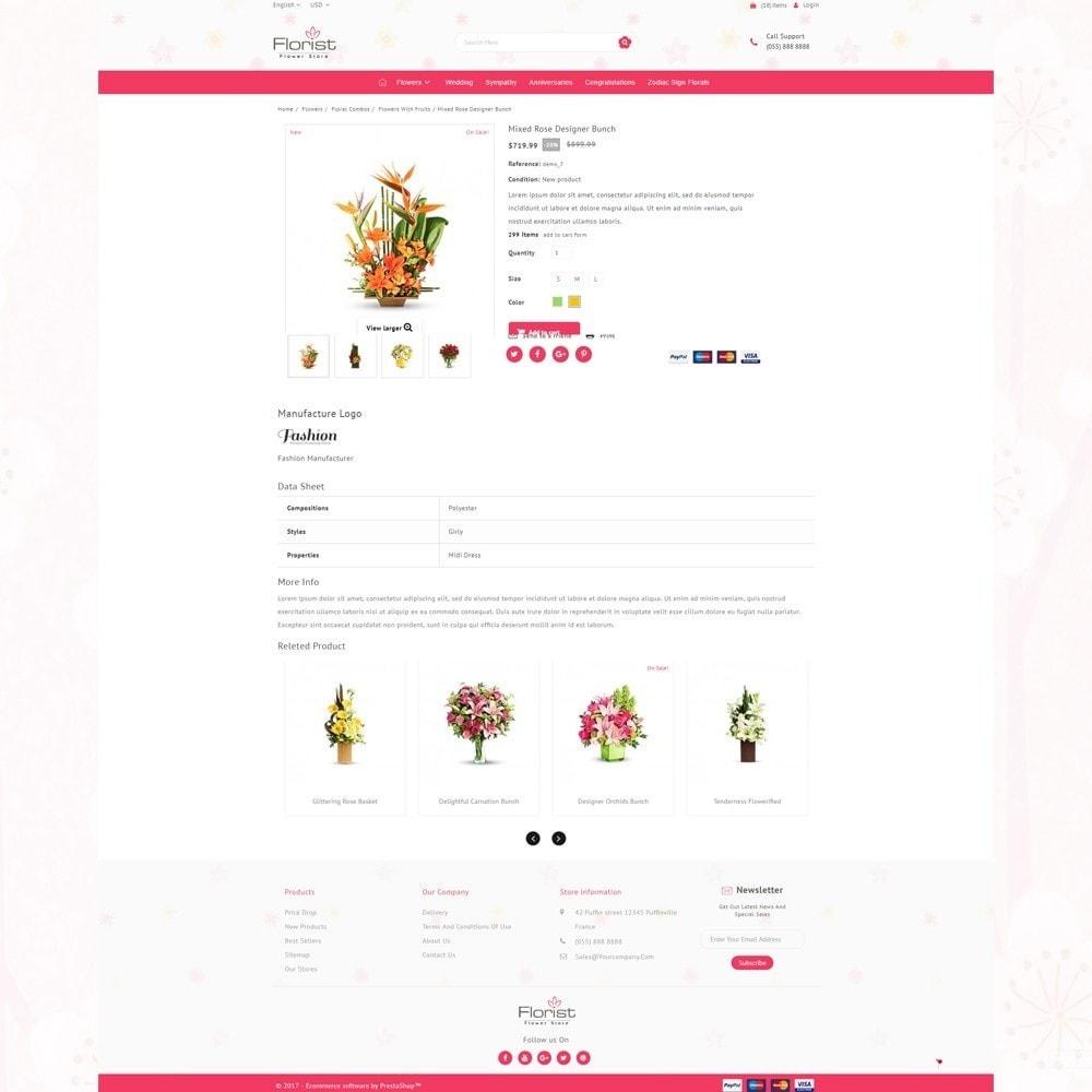 theme - Presentes, Flores & Comemorações - Florist - Boutique Flower Store - 4