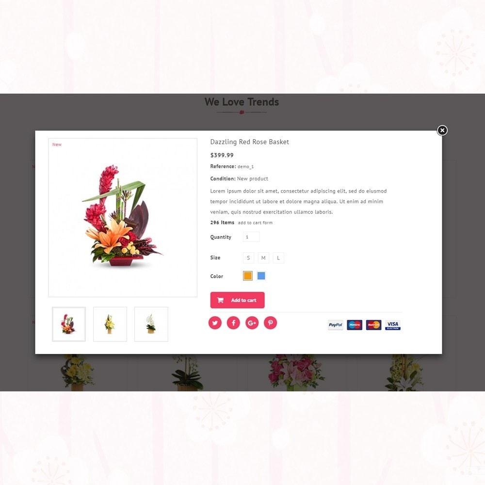 theme - Presentes, Flores & Comemorações - Florist - Boutique Flower Store - 7