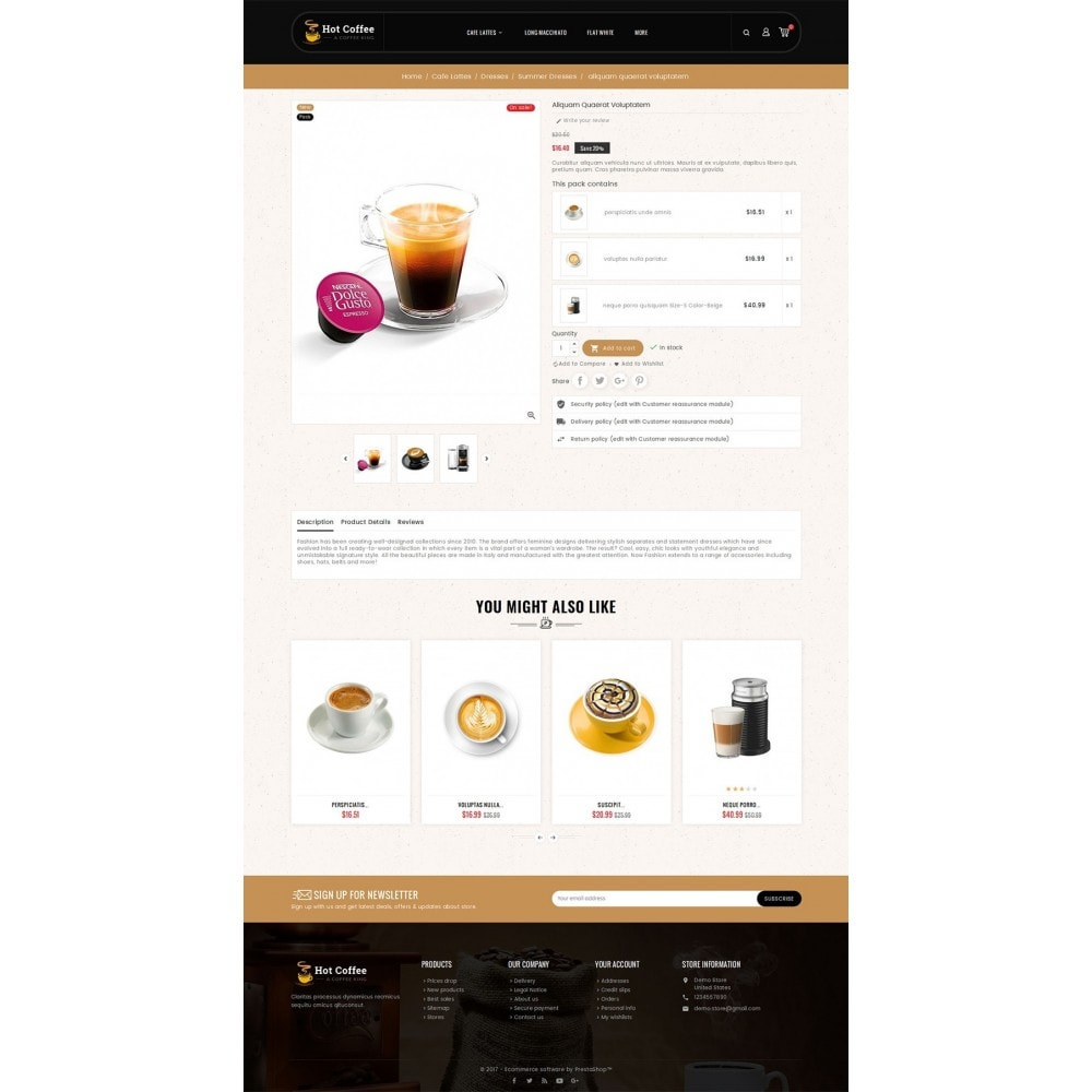 theme - Drank & Tabak - Coffee Cafe Kings - 5
