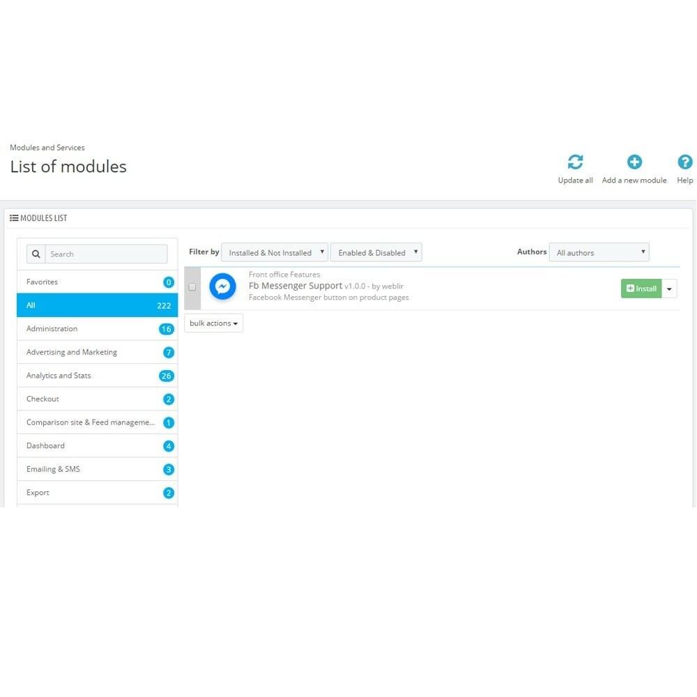 module - Wsparcie & Czat online - Messenger i chat Bot - 2
