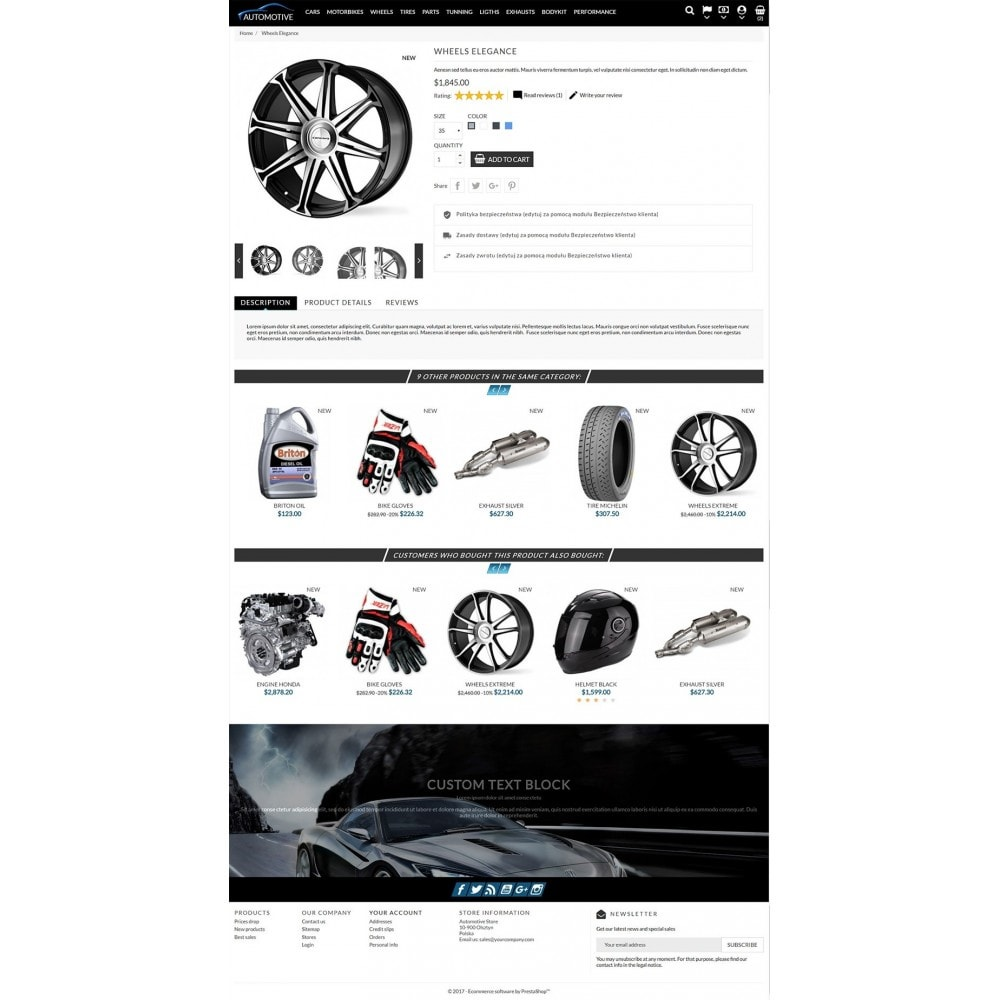 theme - Automotive & Cars - Automotive Store - 3