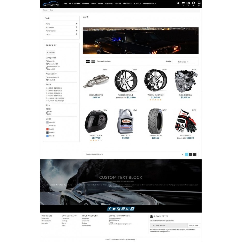 theme - Auto & Moto - Automotive Store - 4