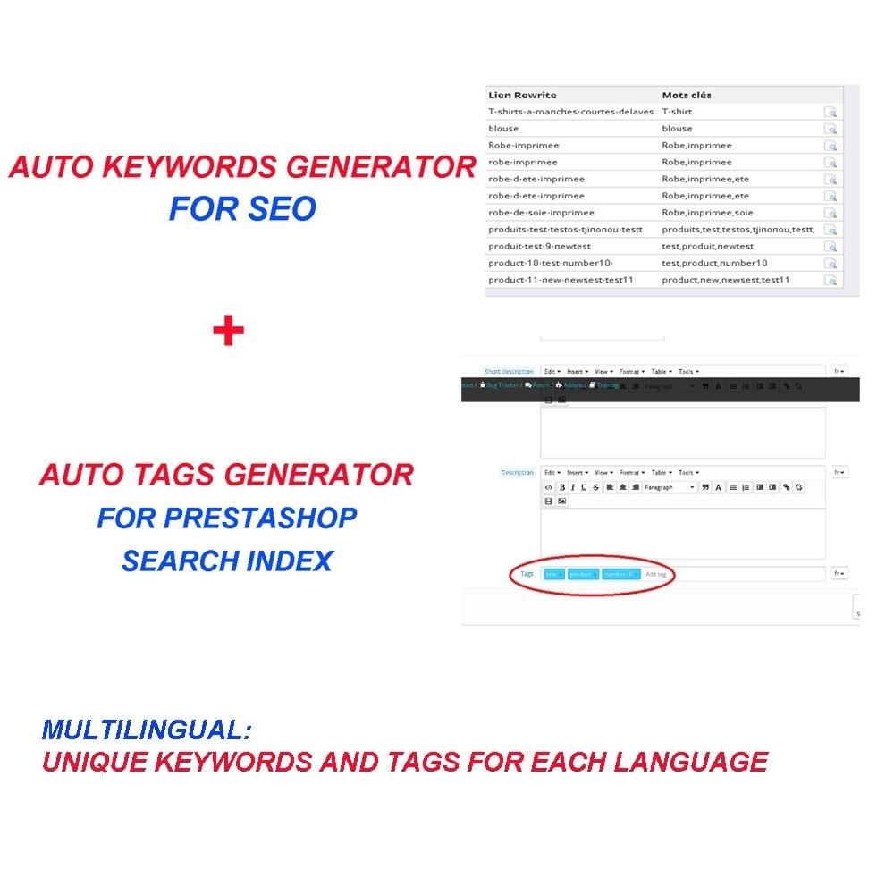 module - Естественная поисковая оптимизация - AUTO KEYWORDS GENERATOR - 1