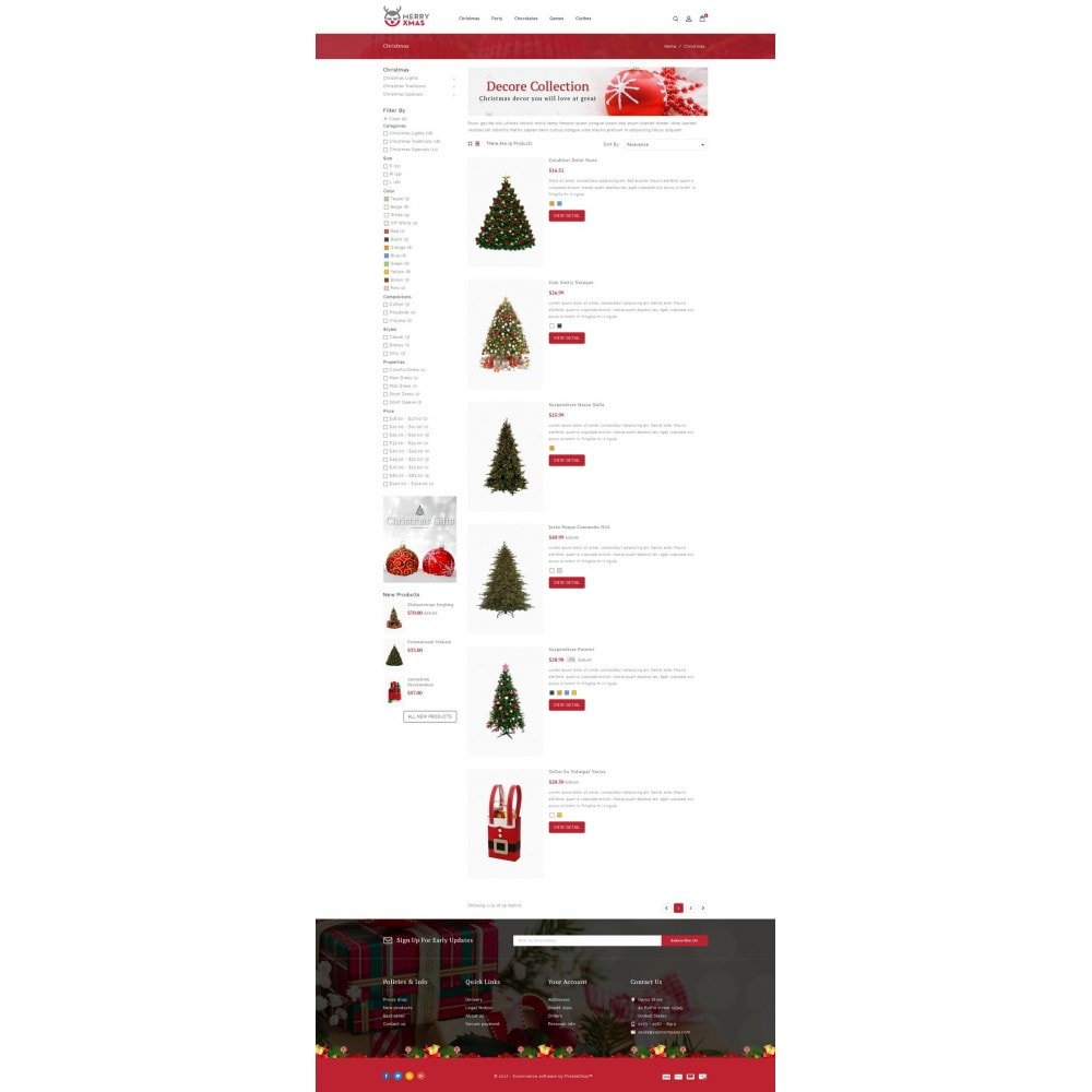 theme - Gifts, Flowers & Celebrations - Merry XMAS - Gifts & Flowers Store - 4