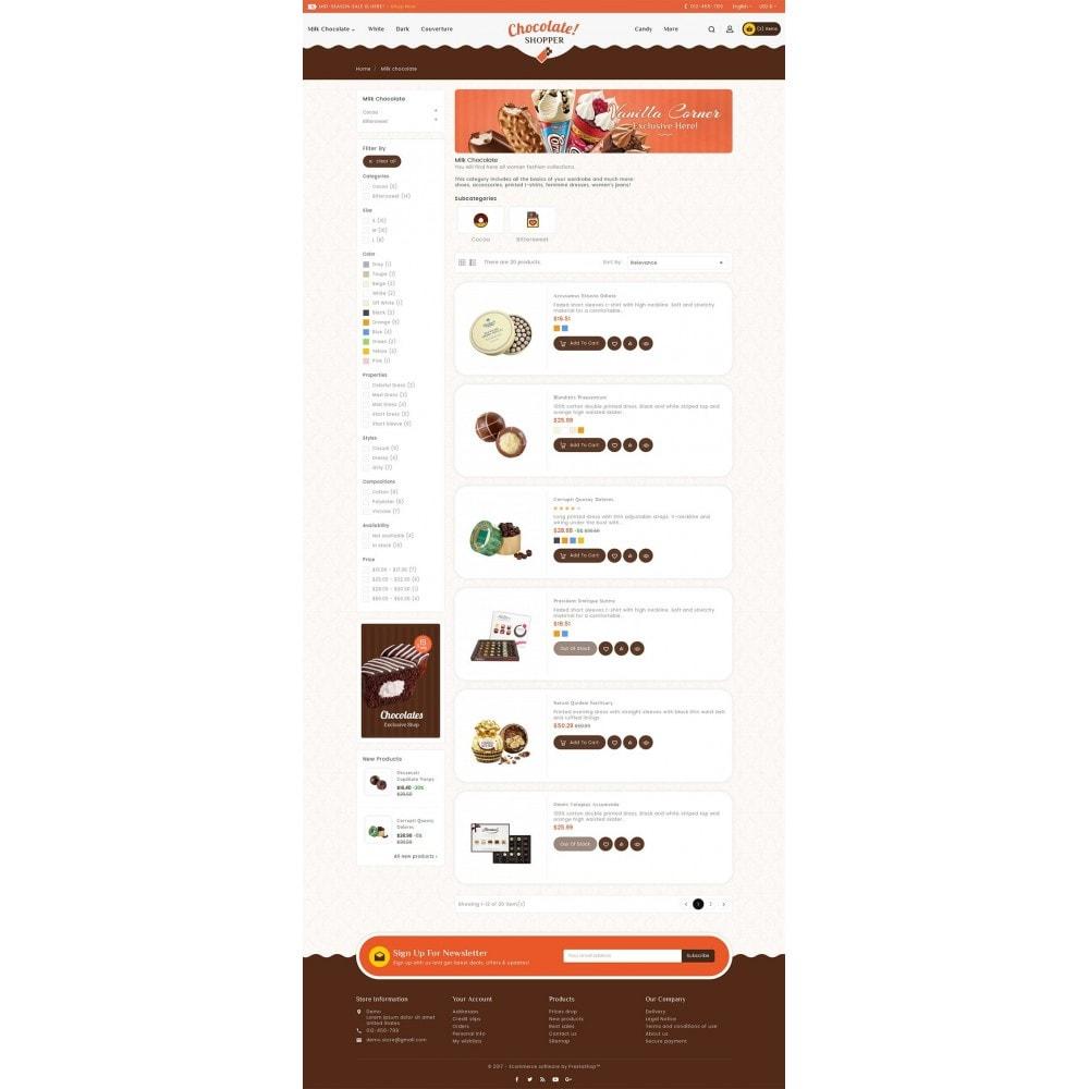 theme - Подарки, Цветы и праздничные товары - Chocolate Cream - 4
