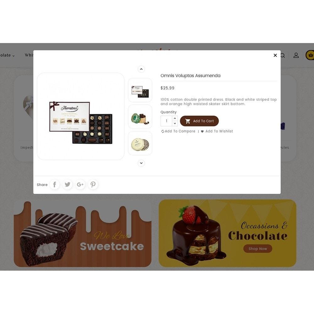 theme - Geschenke, Blumen & Feiern - Chocolate Cream - 7
