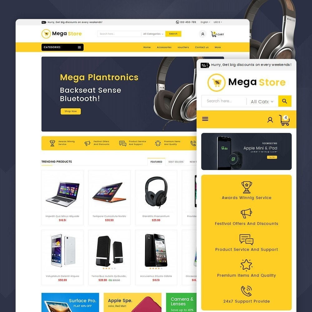 theme - Elettronica & High Tech - Mega Store Electronics - 1