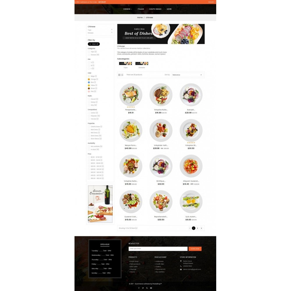 theme - Alimentos & Restaurantes - Good Gusto Food - 3
