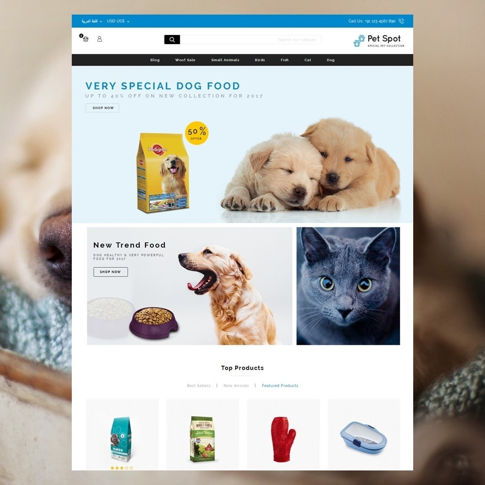 theme - Animais - Pet Spot - Animal Food - 10
