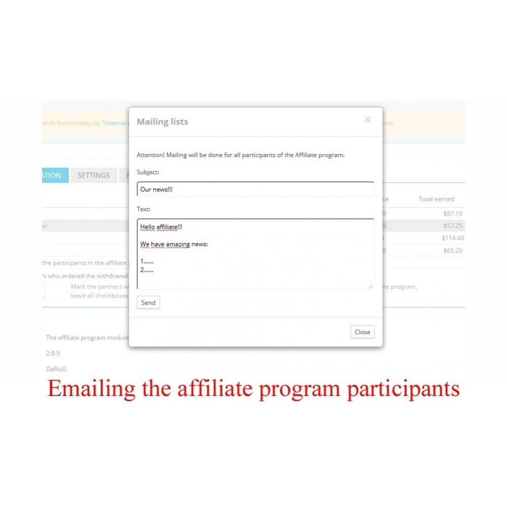 module - Indicizzazione a pagamento (SEA SEM) & Affiliazione - Extended Affiliate Program RefPRO - 9