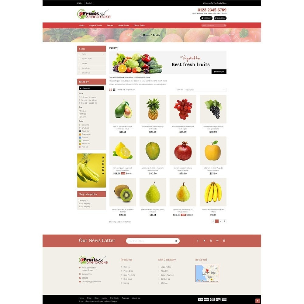 theme - Lebensmittel & Restaurants - Fruits store - 3