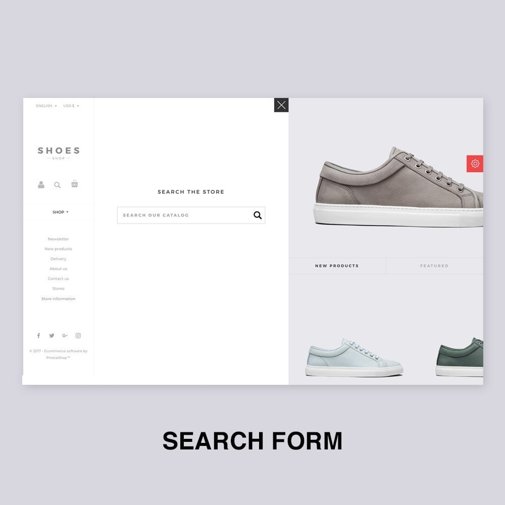theme - Мода и обувь - Configurable Shoes Theme - 9