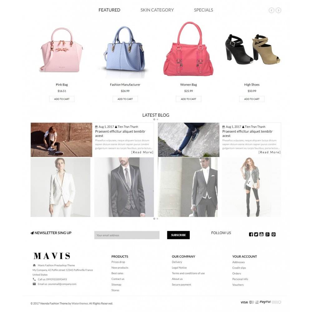 theme - Moda & Calzature - Bag Shoes Fashion Mavis Store - 3
