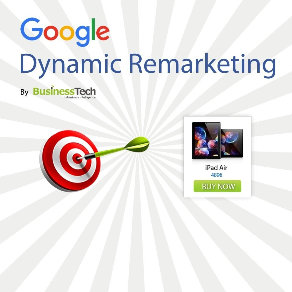 module - Remarketing & Achtergelaten winkelmanden - Google Dynamic Remarketing - Google-Ads tag - 1