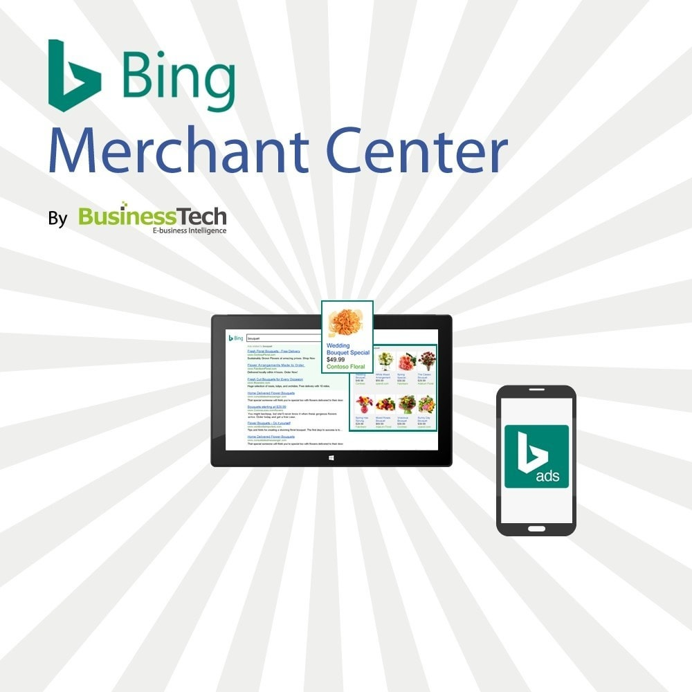 module - SEA SEM (paid advertising) & Affiliation Platforms - Bing Merchant Center - 1