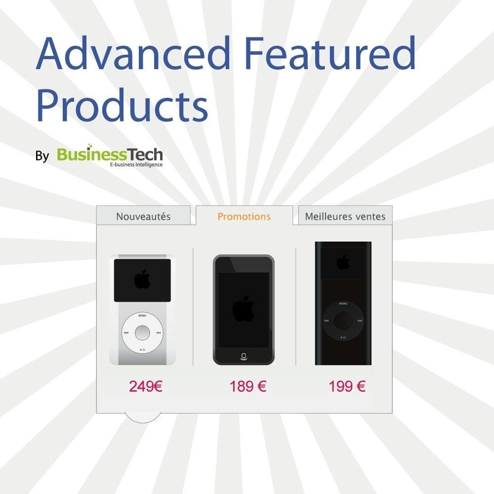 module - Produits en page d'accueil - Advanced Featured Products: Produits phares sur accueil - 1