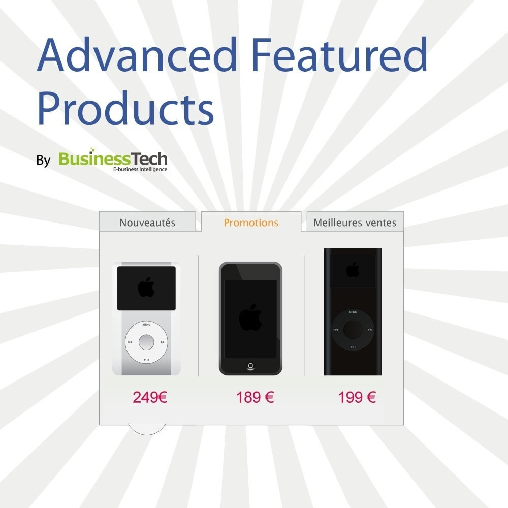 module - Produits en page d'accueil - Advanced Featured Products - 1