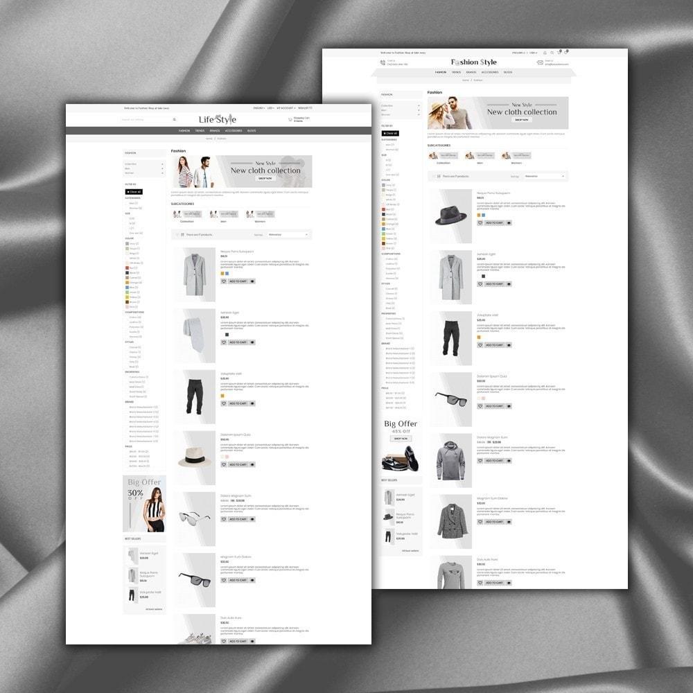 theme - Moda & Obuwie - Life Style Store - 5