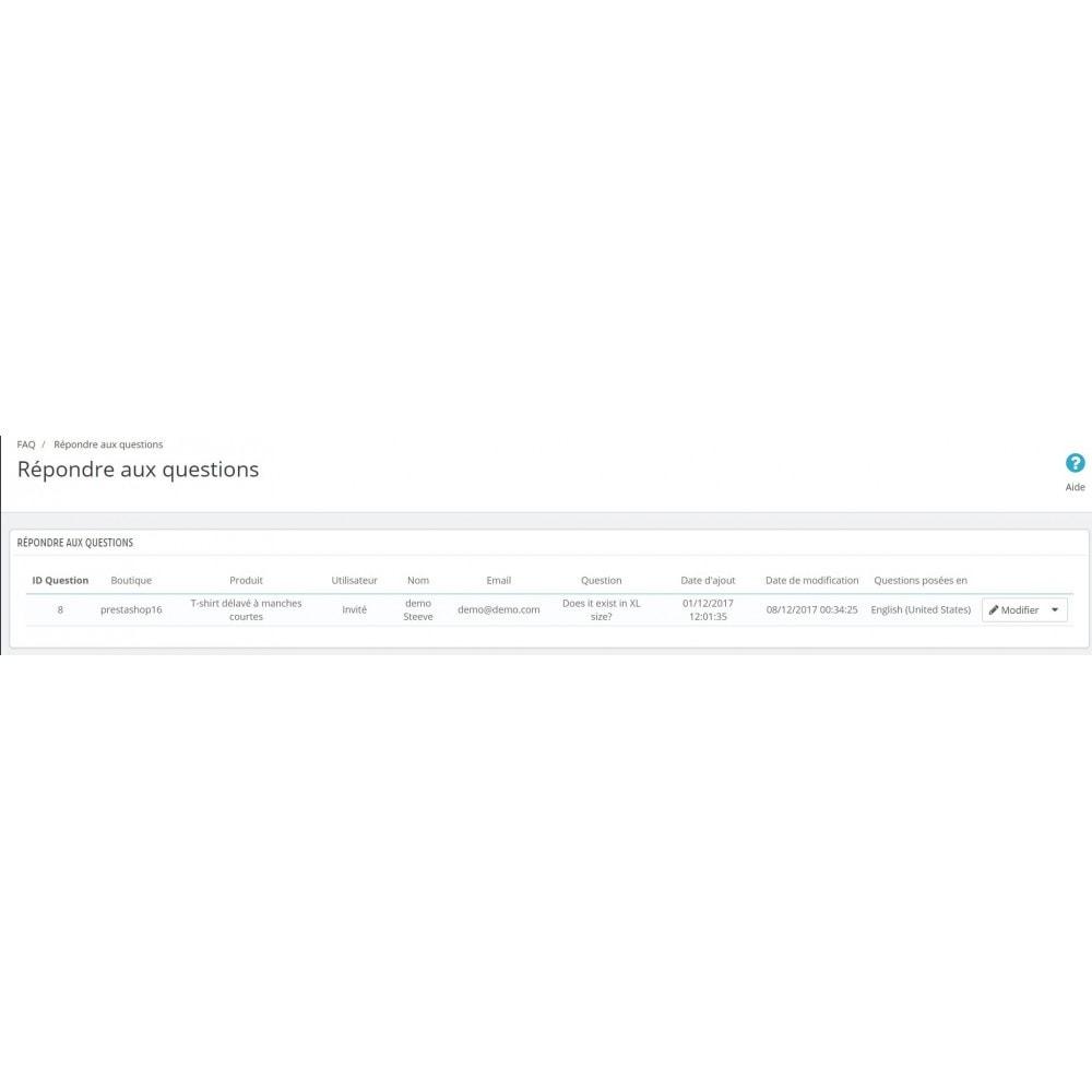 module - FAQ (questions fréquentes) - FAQ pour tous - 5