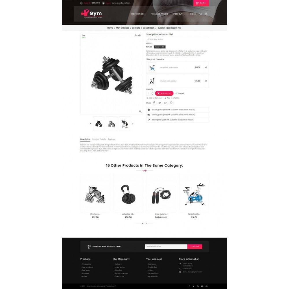 theme - Спорт и Путешествия - Gym Equipment Store - 5