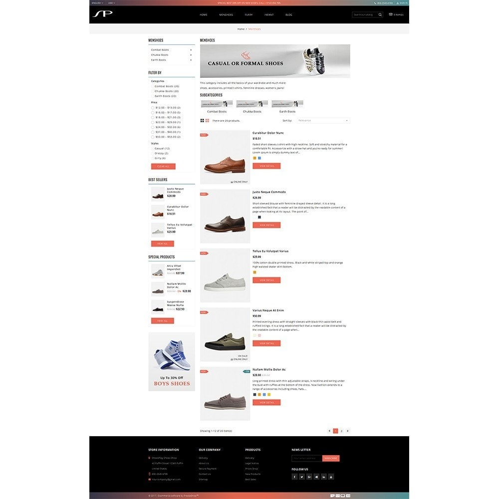 theme - Mode & Chaussures - ShoesPlay Shoes Shop - 4