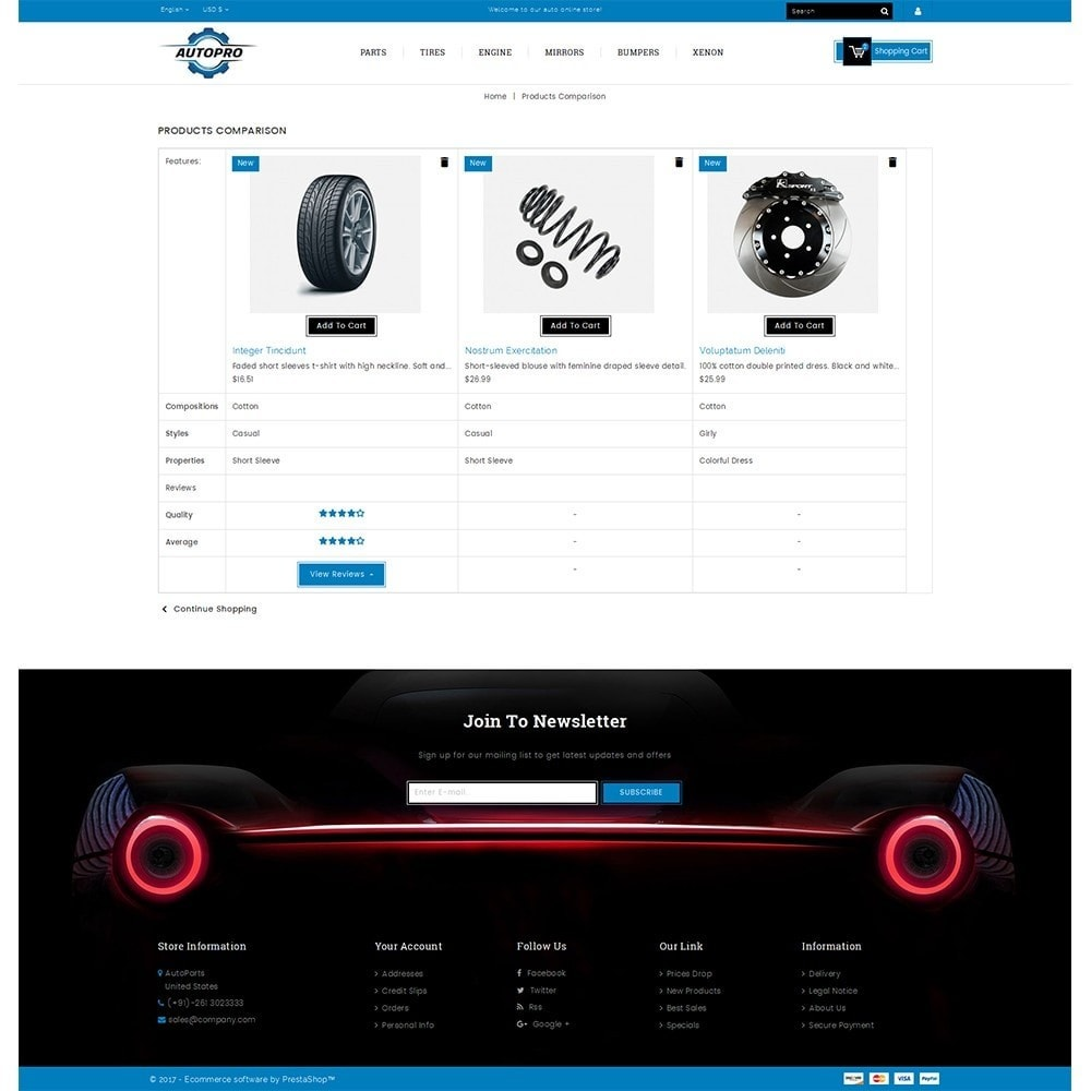 theme - Coches y Motos - Autopro Store - 9