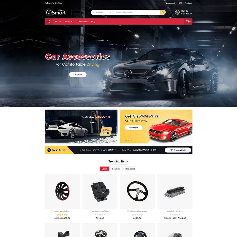 theme - Autos & Motorräder - Auto Parts Smart Store - 2