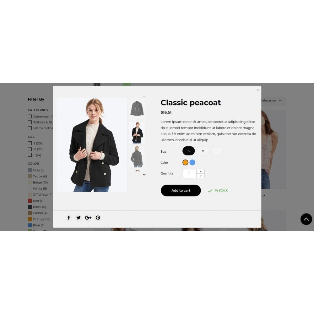 theme - Mode & Chaussures - Joe Fresh Fashion Store - 12