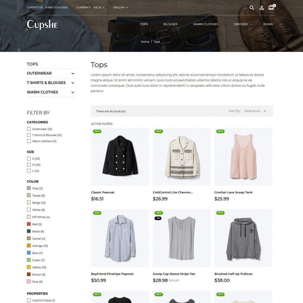 theme - Mode & Chaussures - Cupshe Fashion Store - 6