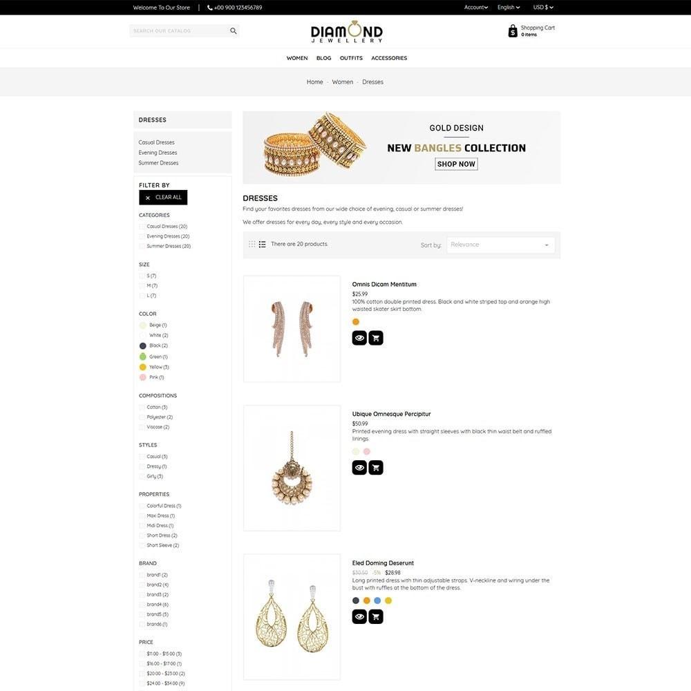 theme - Ювелирные изделия и Аксессуары - Diamond Jewellery - 5