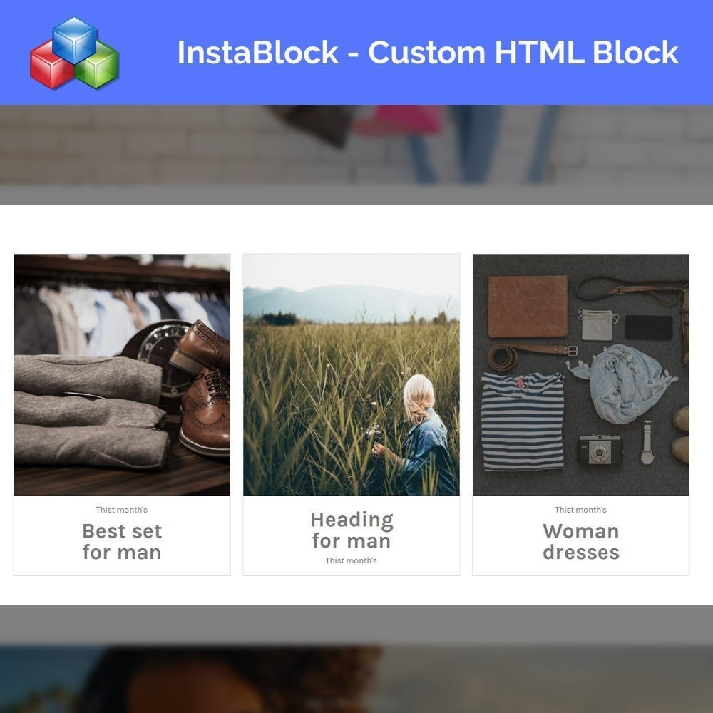 module - Адаптация страницы - InstaBlock - Easy custom blocks - 5