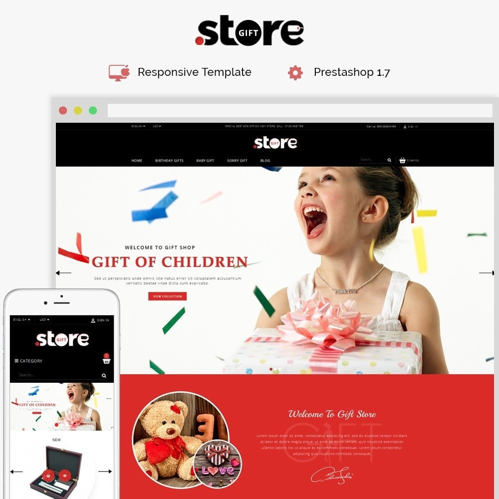 theme - Gifts, Flowers & Celebrations - Gift Store - 1