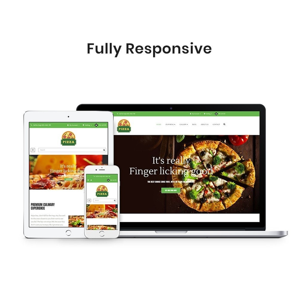 theme - Alimentation & Restauration - Ap Pizza - 1