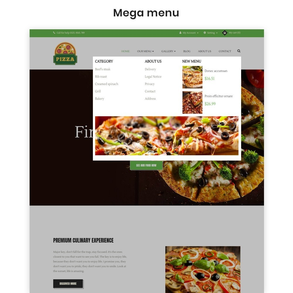 theme - Alimentation & Restauration - Ap Pizza - 4
