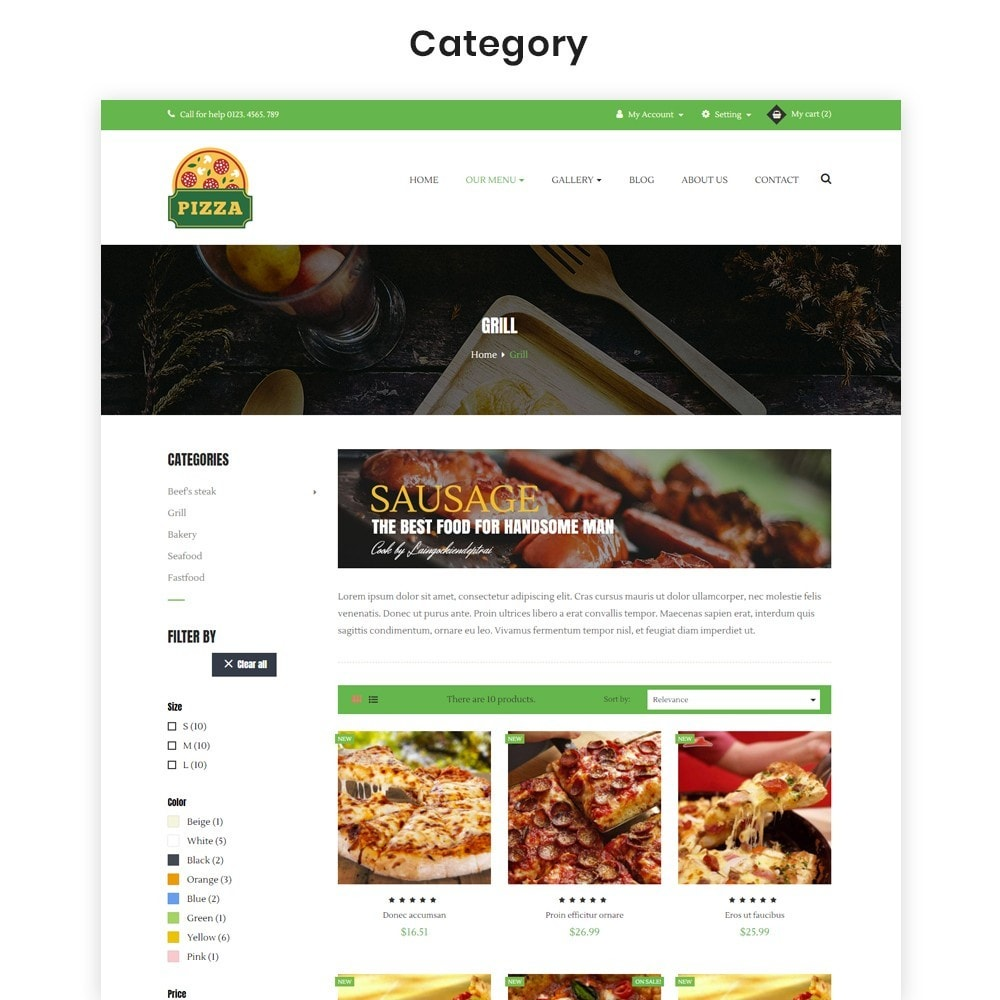 theme - Alimentation & Restauration - Ap Pizza - 5